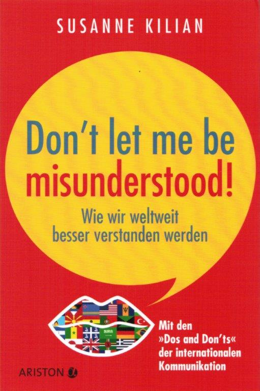 Susanne Kilian - Don't let me be misunderstood!