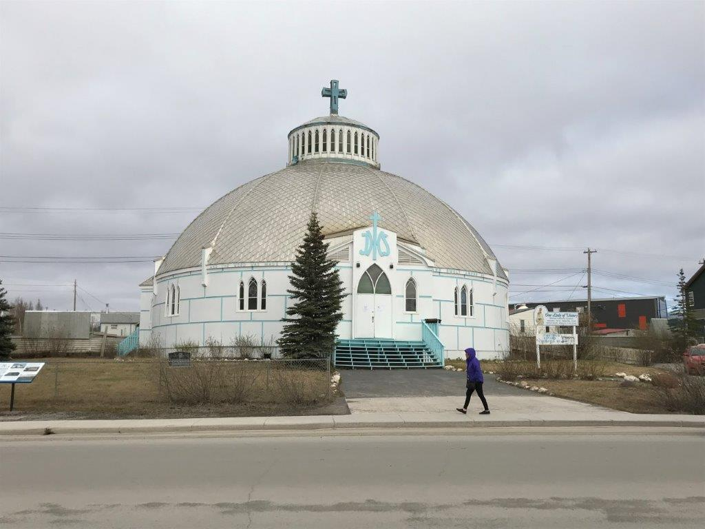 Inuviks Kirche Our Lady of Victory.